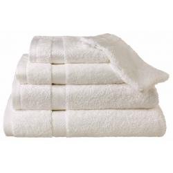 Serviette de toilette Hortense 50x100 cm 650g blanc