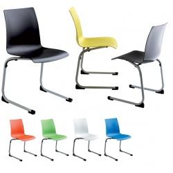 Chaise coque appui sur table Birdie