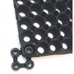 Pastille de raccordement pour caillebotis adapté PMR