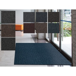 Tapis grattant et absorbant Sirocco trafic intense non feu Bfl-S1 90x150 cm