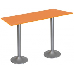 Table snack Sofia stratifié chant ABS 140 x 80 cm