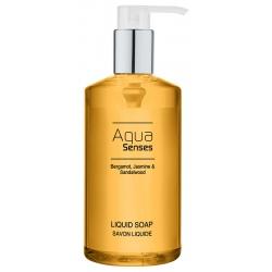 Lot de 12 flacons pompe savon liquide Aqua Sense 300 ml