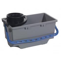 Kit de lavage SRK14 : seau gris 18L avec cône d'essorage
