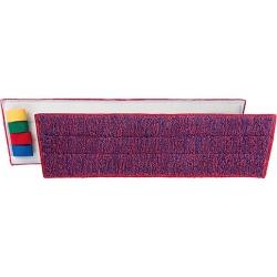 Frange microfibre Ultrasafe 40 cm rouge
