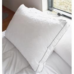 Lot de 12 oreillers 50x70 cm sensation duvet polyester microfibre 700 gr