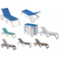 Lot de 16 bains de soleil Jamaïca Beach