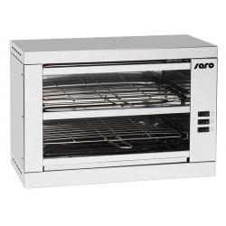 Toaster inox Pro 2 grilles 6 toats L53,5 x P27 x H36,5 cm