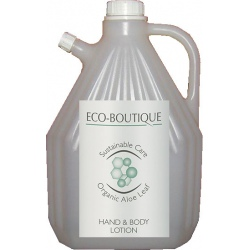 Lot de 4 recharges lotion corporelle Eco Boutique 3 L