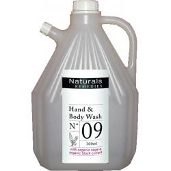 Lot de 4 recharges gel corps et mains Naturals Remedies 3L