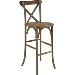 Lot de 2 tabourets de bar Tradition