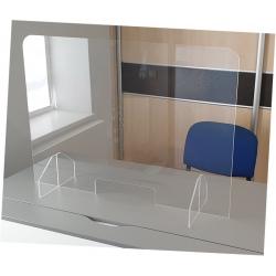 Lot de 5 écrans de protection petit modèle avec trappe et sans trous L 65 x H 65 cm