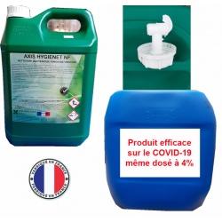 Bidon de nettoyant désinfectant dégraissant Axis Hygienet NF 30L