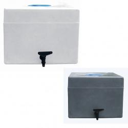 Lave mains mobile PEHD avec bouchon et robinet 45 L