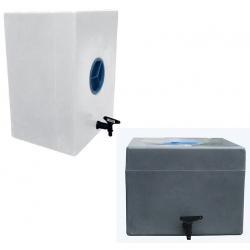 Lave mains mobile PEHD avec bouchon et robinet 100 L
