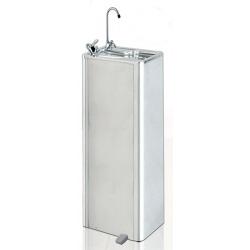 Fontaine à eau en inox à pédale avec filtres et thermostat