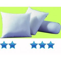 Lot de 20 oreillers 45x70 cm 100 coton blanc garnissage polyester 500 g