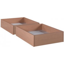 Tiroir simple pour lit L190xH25xP80 cm