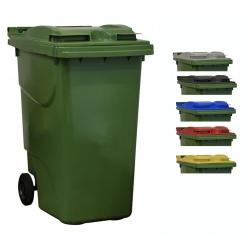 Bac roulant de collecte 100% recyclable 360 L corps vert