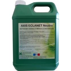Nettoyant vaisselle manuelle bactéricide neutre Axis Eclanet à diluer 5L