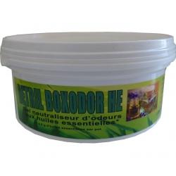Lot de 18 pots de gel neutralisateur d'odeur aux huiles essentielles Detril Boxodor 300 g