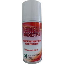Lot de 6 aérosols désinfectants et insecticides 150 ml Desogerme Microsect 150 ml