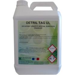 Décapant graffiti surfaces fragiles Detril TAG UL 5L