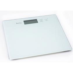 Pèse-personne électronique en verre mat blanc Doutzen