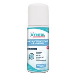 Lot de 12 désinfectants air et surfaces One Shot 150 ml