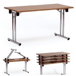 Table pliante empilable Como 180x80 cm