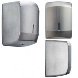 Distributeur d'essuie-main à dévidage central Design inox AISI 304 brossé