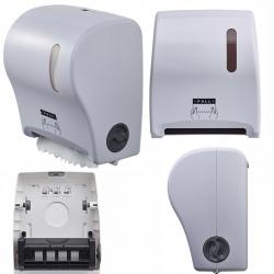 Distributeur d'essuie-main autocut en ABS blanc