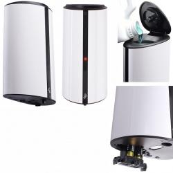 Distributeur automatique de savon ABS blanc 0,85 L