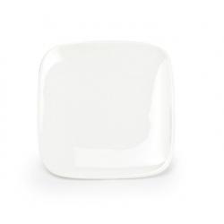Assiette plate carrée Mexique en porcelaine 13,5 x 13,5 x H1,8 cm