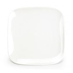 Assiette plate carrée Mexique en porcelaine 19,7 x 19,7 x H1,9 cm