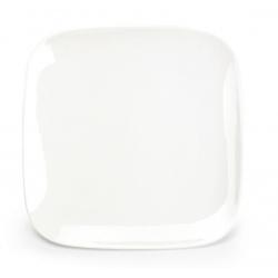 Assiette creuse carrée Mexique en porcelaine 26 x 26 x H2,5 cm