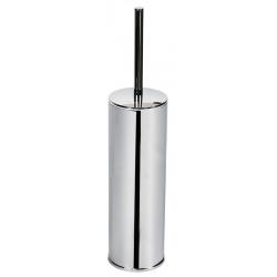 Porte-balayette à poser en laiton chromé et métal Hotelperfektion