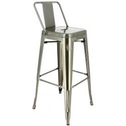 Lot de 4 chaises hautes métal Chicago