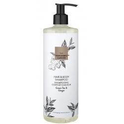 Lot de 15 flacons pompe The perfurmer's Garden shampooing corps et cheveux 500 ml