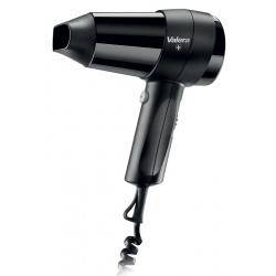 Lot de 6 sèche-cheveux à poser Action all black 1800 W