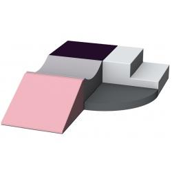 Motricité d'angle 5 modules ZEN H 40 cm