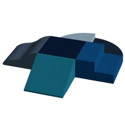 Motricité centrale 6 modules ZEN H 20 cm