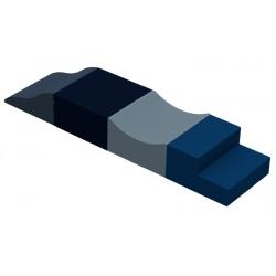 Motricité en ligne 4 modules ZEN H 40 cm