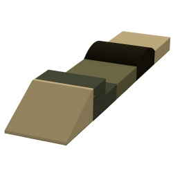 Motricité en ligne 5 modules ZEN H 20 cm