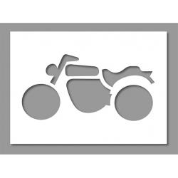 Pochoir Moto 1 30x60 cm