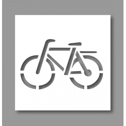Pochoir Vélo 1 40x60 cm