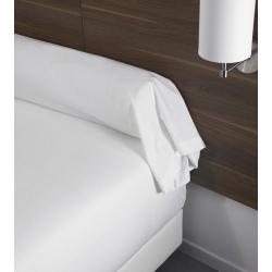Housse de couette 100% coton blanc 125 g 155x230 cm (le lot de 10)