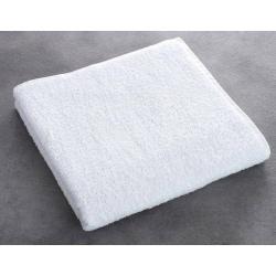 Drap de bain Olympe 100% coton blanc 550 g 70x140 cm (le lot de 5)