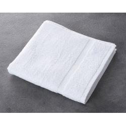 Serviette de toilette Soft 100% coton blanc 450 g 50x100 cm (le lot de 10)