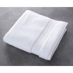 Drap de bain Riviera 100% coton blanc 500 g 70x140 cm (le lot de 5)