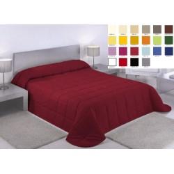 Lot de 10 couvre lits  matelassé Carla 230x260 cm dessous blanc ouatinage 150gr m2